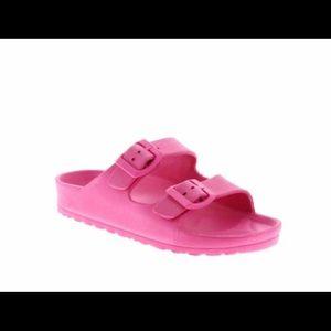 Wonder Nation girl pink sandals size 11/12